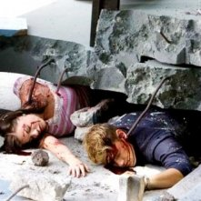 Krista Allen e Nick Zano raggiunti dalla morte nel film The Final Destination
