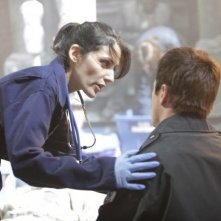 Lisa Edelstein in una scena di Help Me dalla sesta stagione di Dr. House: Medical Division