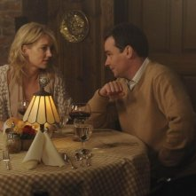 Robert Sean Leonard e Cynthia Watros in una scena di Knight Fall dalla sesta stagione di Dr. House: Medical Division