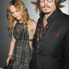Cannes 2010: Vanessa Paradis con Johnny Depp al party organizzato da Chanel al Vip Room