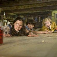 Asa Butterfield, Eros Vlahos e Lil Woods, i marmocchi tremendi del film Tata Matilda e il grande botto