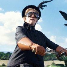 Emma Thompson in azione nel film Tata Matilda e il grande botto