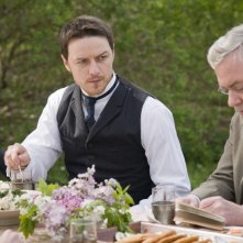 James McAvoy in una scena del film The Last Station