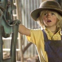 Oscar Steer in una scena del film Tata Matilda e il grande botto