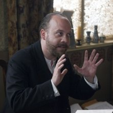 Paul Giamatti in una scena drammatica del film The Last Station