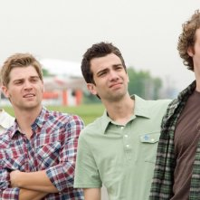 Un'immagine di Jay Baruchel, Mike Vogel, Nate Torrence e T.J. Miller dal film Lei è troppo per me