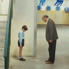 Il piccolo Zuhair Abu Hanna in un'immagine del film The Time That Remains