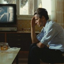 Saleh Bakri in una sequenza del film The Time That Remains