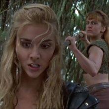 Hudson Leick e Renee O\'COnnor nell\'episodio  Xena contro Callisto e Marte