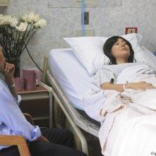 Daniel Dae Kim e Yunjin Kim in una scena del doppio finale di Lost