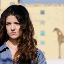 Esther Garrel in una scena del corto Armandino e il Madre