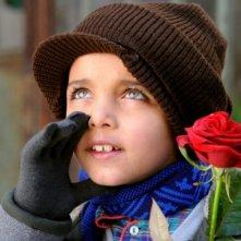 Il piccolo Denis Nikolic in un'immagine del corto Armandino e il Madre