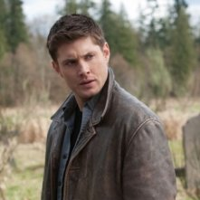 Jensen Ackles in una scena dell'episodio Swan Song di Supernatural