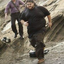 Jorge Garcia e Michael Emerson in una scena del doppio finale di Lost