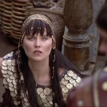 Lucy Lawless in Xena e Giulio Cesare