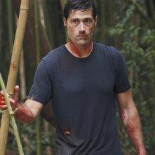 Matthew Fox in una scena del doppio finale di Lost