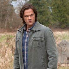 Supernatural: Jared Padalecki in una scena dell'episodio Swan Song