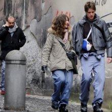 Un'immagine del cast tecnico del cortometraggio Armandino e il Madre