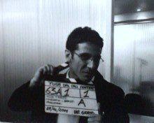 Cristian Lo Cicero sul set di Fuga dal call center