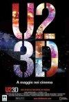La locandina italiana di U2 3D