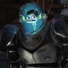 Un'immagine del cattivo Titan dal film Megamind