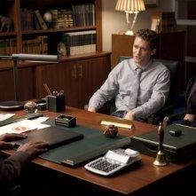 Glee: Jenna Ushkowitz e Matthew Morrison nell'episodio Theatricality