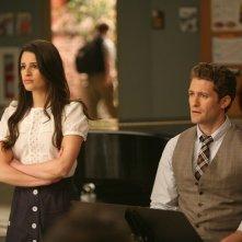 Glee: Lea Michele e Matthew Morrison nell'episodio Theatricality