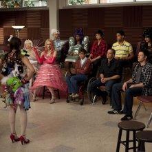 Glee: Lea Michele nell'episodio Theatricality
