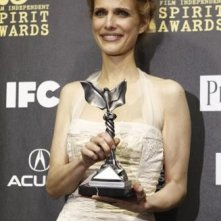 Lynn Shelton con il premio John Cassavetes per il film Humpday all'Independent Spirit Awards 2010