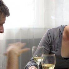 Mark Duplass e Alycia Delmore in una scena di Humpday