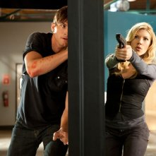Spencer (Ashton Kutcher) e Vivian (Katheryn Winnick) nel film Killers