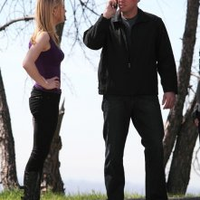 Casey (Adam Baldwin) e Sarah (Yvonne Strahovski) nell'episodio Chuck Versus the Subway: Part 2