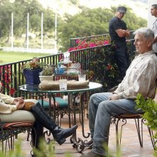 Mark Harmon, Jacqueline Obradors e Dylan Bruno in Messico nell'episodio Rule Fifty-One di N.C.I.S.