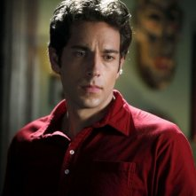 Un primo piano di  Zachary Levi nell'episodio Chuck Versus the Tooth