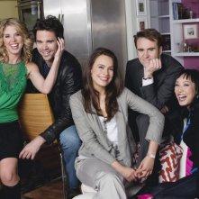 100 Questions: una foto promozionale del cast della serie