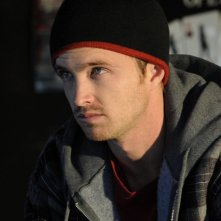 Breaking Bad: Aaron Paul in una scena dell'episodio Mas