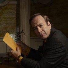 Breaking Bad: Bob Odenkirk in una scena della stagione 3