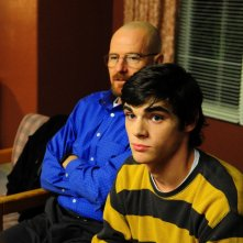 Breaking Bad: Bryan Cranston ed RJ Mitte nell'episodio I See You