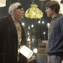 Bruce Dern e Chris Massoglia in una scena del film The Hole in 3D