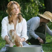 Haley Bennett in una scena del film The Hole in 3D