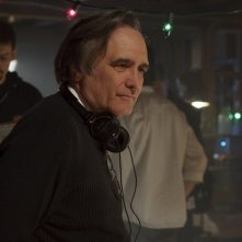 Il regista Joe Dante sul set del film The Hole in 3D