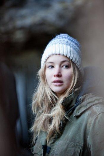 Jennifer Lawrence, protagonista del film Winter's Bone.