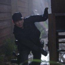 Jet Li in una scena di The Expendables