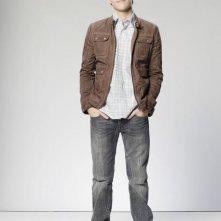Justin Miles in una immagine promozionale della serie The Gates