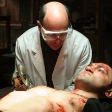 Kerry Shale e Andrei Arlovski in una sequenza del film Universal Soldier: Regeneration