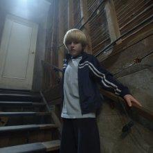 Nathan Gamble in una scena del film The Hole in 3D