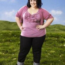 Nikki Blonsky è Willamina in una foto promozionale della serie Huge