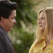 Oliver Platt e Laura Linney nel pilot della serie The Big C
