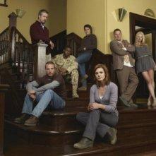 Persons Unknown: Una foto promozionale del cast della serie