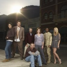 Persons Unknown: Una immagine promozionale del cast della serie